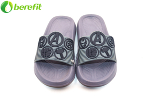 Gray Boy Avengers EVA Fashion Slides Sandalias